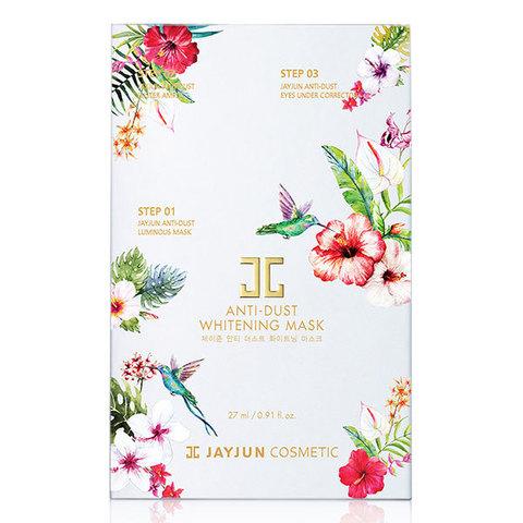 Jayjun Anti-Dust Whitening Mask Детокс-комплекс для сияния кожи 10шт