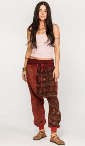 Цветные штаны на завязках Люффа