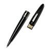 Pierre Cardin Progress - Black Gun Metal, шариковая ручка, M, с флешкой 8 Gb