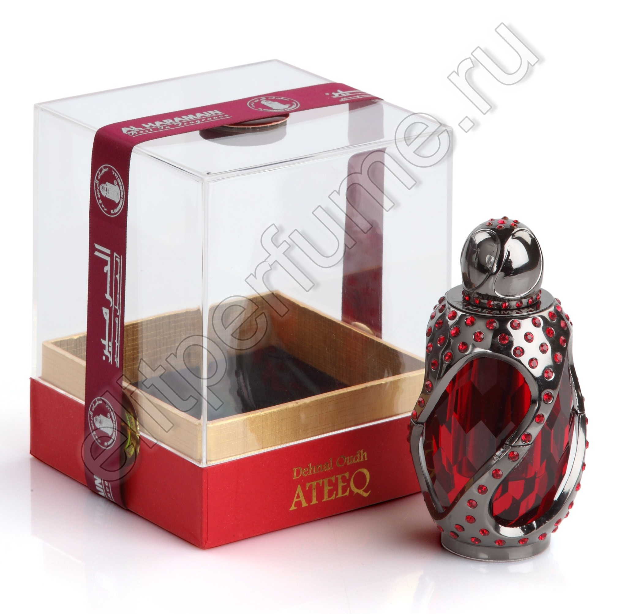 Ден аль Уд Атик Dehn al Oudh Ateeq 6 мл арабские масляные духи от Аль Харамайн Al Haramain Perfumes