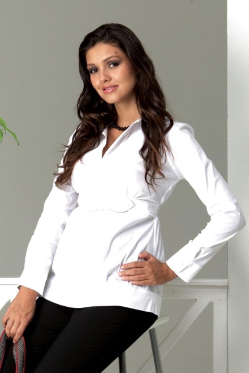 Блузка для беременных 01300 белый