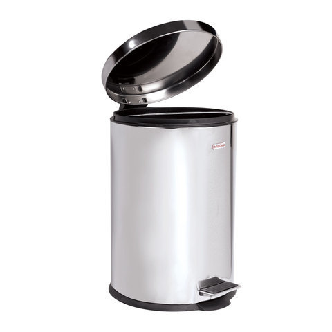 Ведро-контейнер для мусора с педалью ЛАЙМА