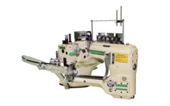 Фото: Флетлок MEGASEW MJ62G-460-01/SV/AT/AW/TK1 Плоскошовная шестиниточная швейная машина