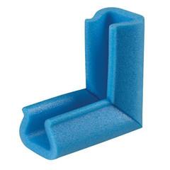 Уголок защитный тип 25-35 100 мм синий (10 штук в упаковке)
