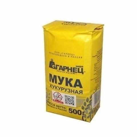 Мука Гарнец Кукурузная б/глютен 500г