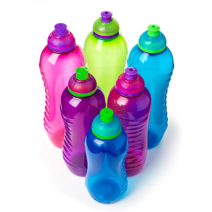 """Бутылка для воды Sistema """"Hydrate"""" 800  мл, цвет Фиолетовый"""