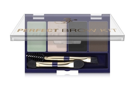 Ffleur Тени EB 07 для век и бровей PERFECT BROW KIT тон 1- 3