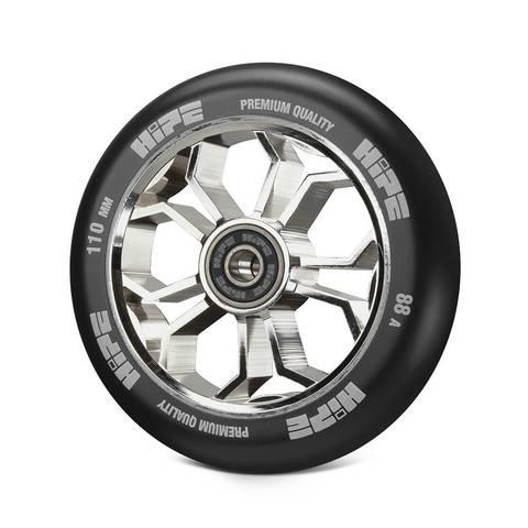 Колесо HIPE 01 Light серебро/черный артикул 251312