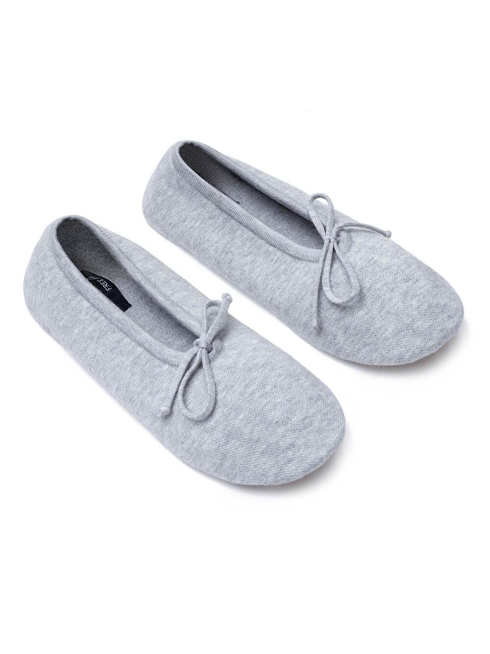 Женские носки серого цвета из вискозы - фото 1