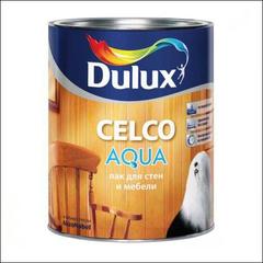 Лак по дереву Dulux CELCO AQUA 10 матовый (Прозрачный)