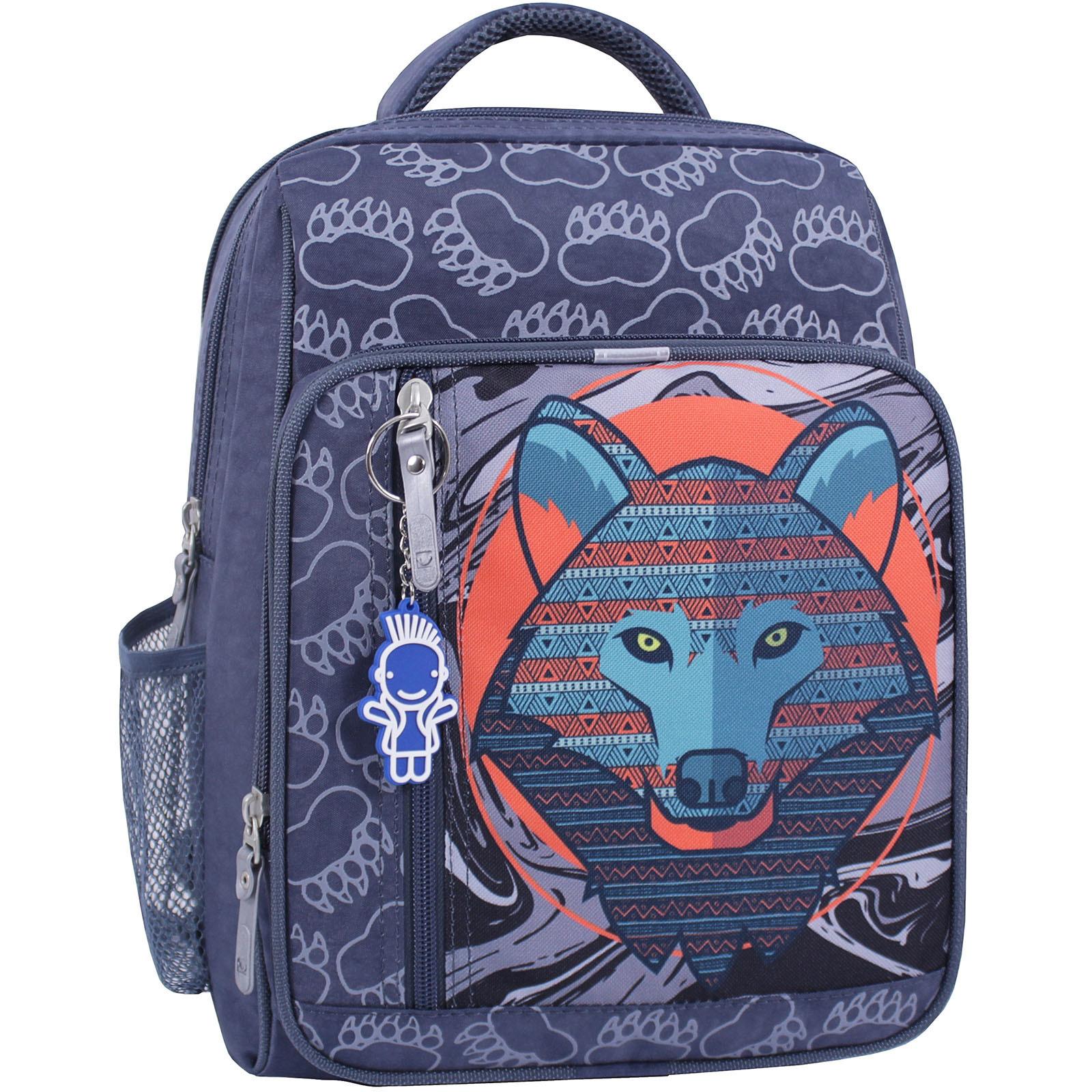 Детские рюкзаки Рюкзак школьный Bagland Школьник 8 л. 321 серый 509 (0012870) IMG_0949_суб.509_.JPG