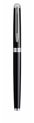 Ручка-роллер Waterman Hemisphere, цвет: Mars Black/CT, стержень: Fblk123
