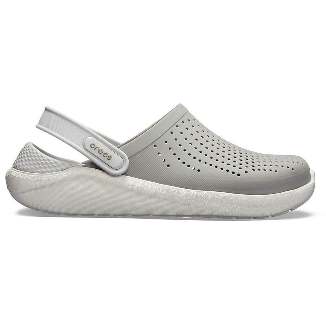 Сабо Crocs LiteRide Clog Smoke Pearl White
