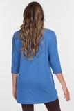 Джемпер для беременных 09264 синий