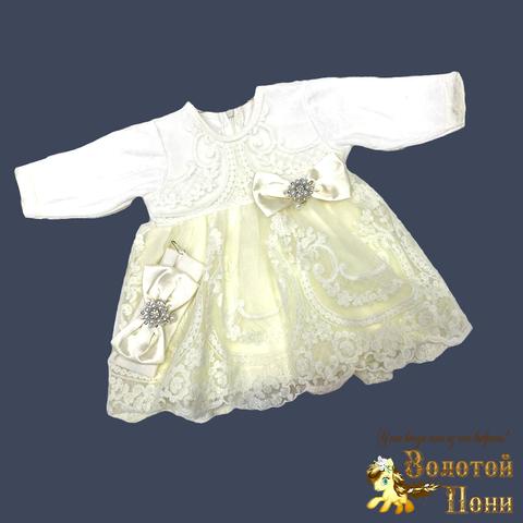 Платье с повязкой велюр д (62-80) 210923-А6019