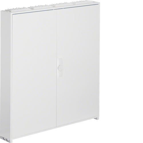 Щиток встраиваемый,секционный,с оснасткой,950x550x110мм (ВхШхГ), одна дверь,RAL9010