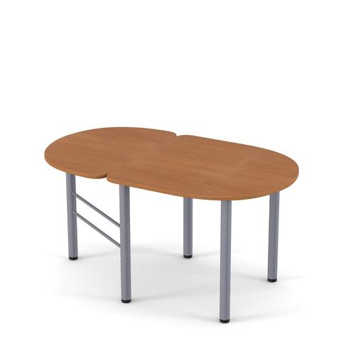 Стол обеденный полускладной овальный Женева 3