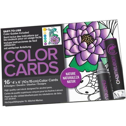 Раскраска-склейка Chameleon Color Cards Nature