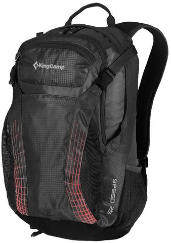 Картинка рюкзак городской Kingcamp Speed 25 чёрный - 1