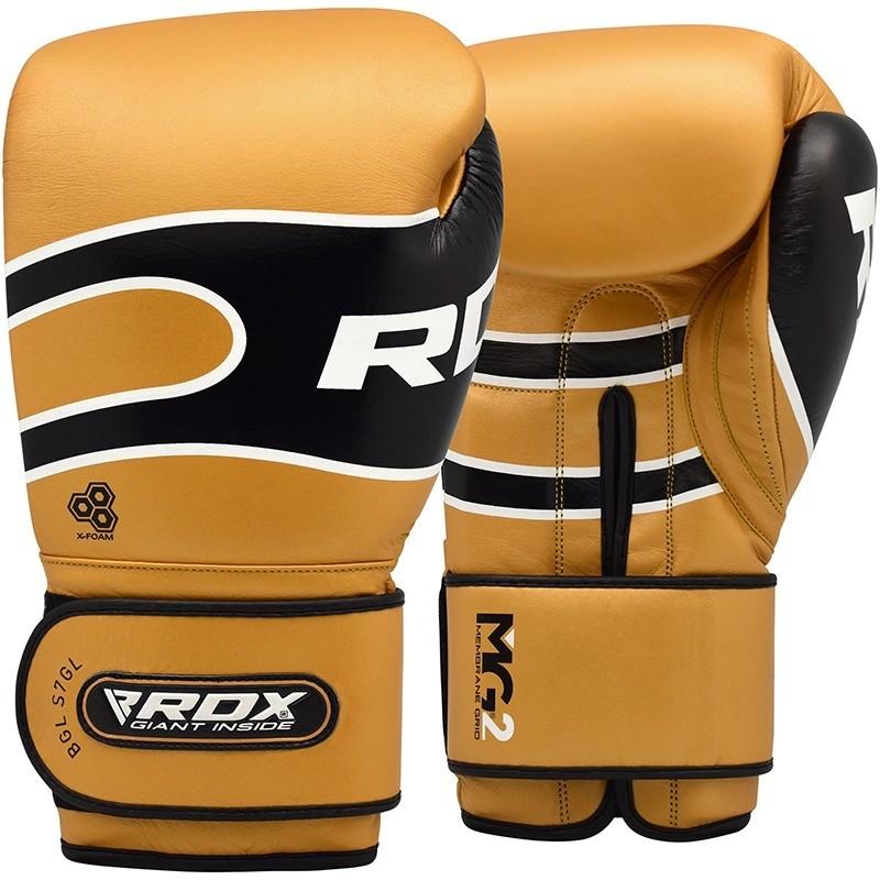 Перчатки Перчатки для бокса RDX Boxing Gloves Pro S7 Brown 1.jpg