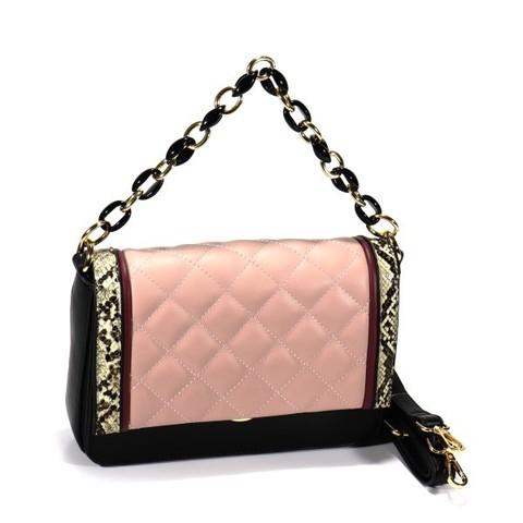 Комбинированная сумка жесткой формы