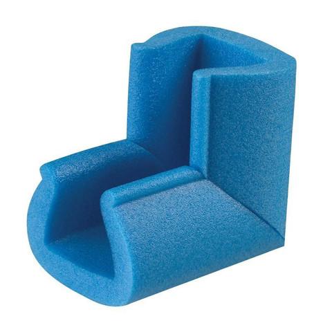 Уголок защитный синий тип 45-60 длина 10 см (10 штук в упаковке)
