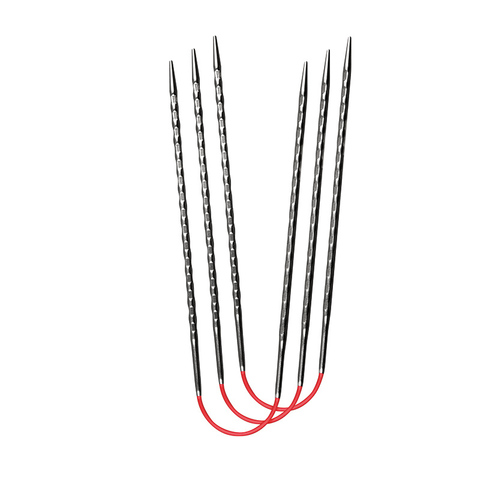 Спицы металлические круговые супергладкие c квадратным кончиком addiCrasyTrioNovel Long №2,25 , 30 см