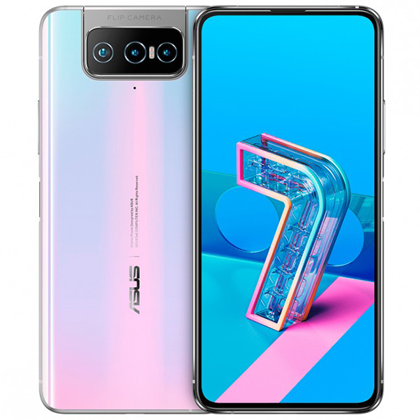 Zenfone 7 Asus Zenfone 7 ZS670KS 8/128GB Pastel White (Белый) white1.jpg