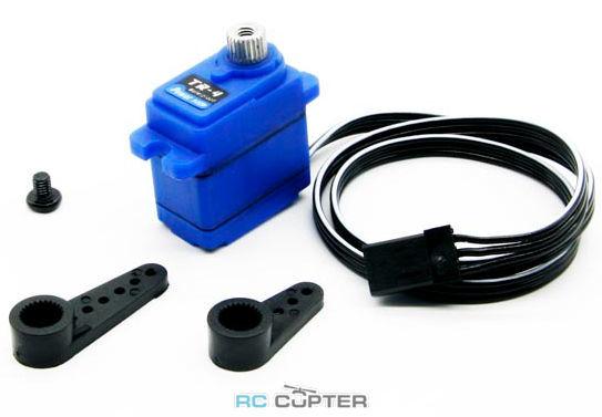 Сервопривод PowerHD TR-4 waterproof (1.8-2.6 кг/см, 0.15-0.10 сек/60°, 16г)