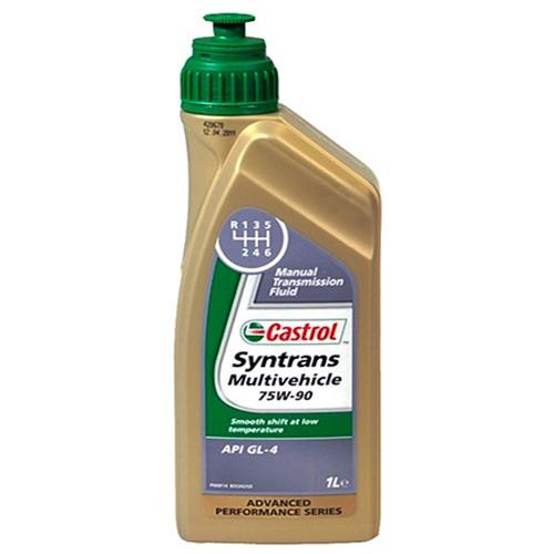Castrol Syntrans Multivehicle 75W-90 -Синтетическое трансмиссионное масло для МКПП