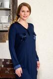 Домашняя сорочка из вискозы Le Chat