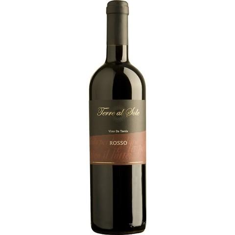 Вино Терре Аль Соле столовое красное п/сух. 0,75 л  12% Италия