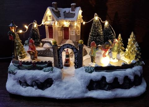 Новогодняя Деревня в миниатюре