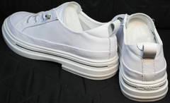Женские модные туфли кэжуал кроссовки El Passo sy9002-2 Sport White.