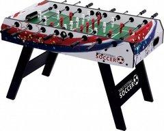 Настольный футбол (кикер) «Patriot» (138x73x88 см, цветной)
