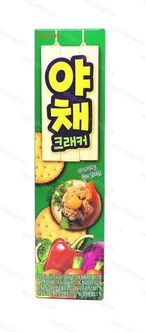 Крекер со вкусом овощей Fitness Lotte, Корея, 83 гр.