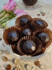Шоколадные конфеты из кэроба с Фундуком (дроблёным), 60 г