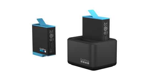 Dual Battery Charger HERO9  - Двойное Зарядное устройство + аккумулятор | ADDBD-001 |