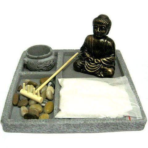 Садик Дзен Buddha  18,5 см, камень