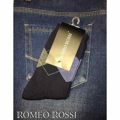 Носки мужские утепленные с шерстью черные ROMEO ROSSI RR00752