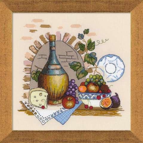 Набор для вышивания крестом «Натюрморт с сыром» (1303)