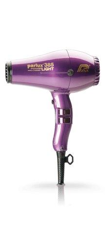Фен Parlux 385 Power Light, 2150 Вт, ионизация, 2 насадки, фиолетовый