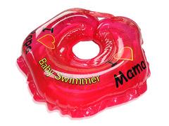 Baby Swimmer Круг на шею 3-12 кг (красный) (BS21-3)