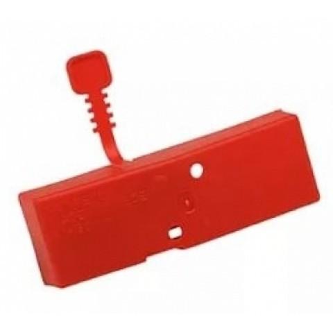 Чехол на ножи ручных ледобуров MORA ICE Easy диам. 175 мм. (цвет красный)