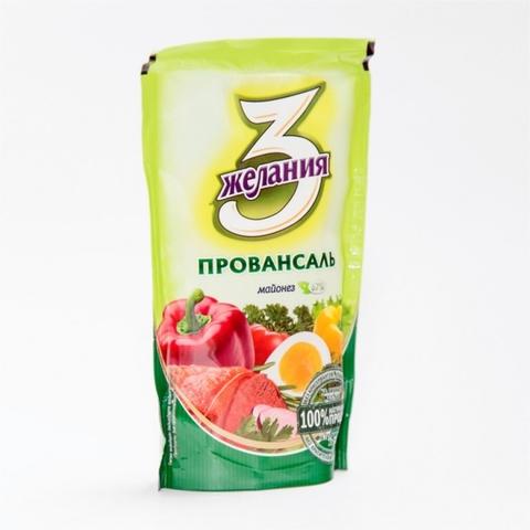 Майонез 3 ЖЕЛАНИЯ Провансаль 100 гр ДП КАЗАХСТАН