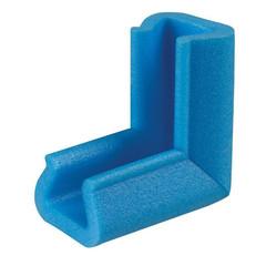 Уголок защитный синий тип 35-45 длина 10 см (10 штук в упаковке)