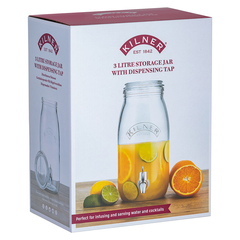 Диспенсер для напитков 3 л в подарочной упаковке, фото 3