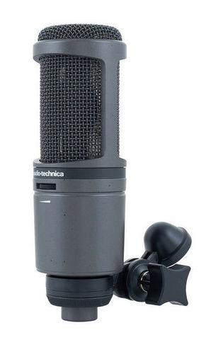 Студийный конденсаторный микрофон Audio-Technica AT2020 USBi