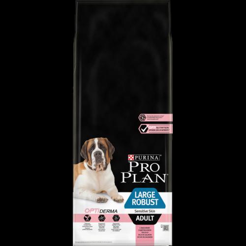 Сухой корм Сухой корм, Purina Pro Plan Dog, для взрослых собак крупных пород с мощным телосложением, с чувствительной кожей, с лососем и рисом 14_взр_круп_с_чувств_кож_с_лосос_моща.png