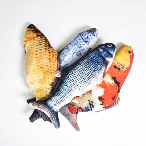 Рыба в пак. (двигается хвост)